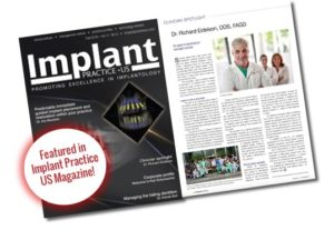 implants practice US magazine article