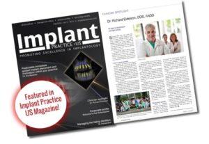 implants practice US magazine article